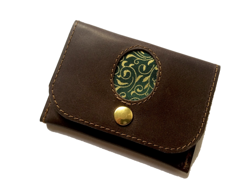 Kleines Portemonnaie Leder