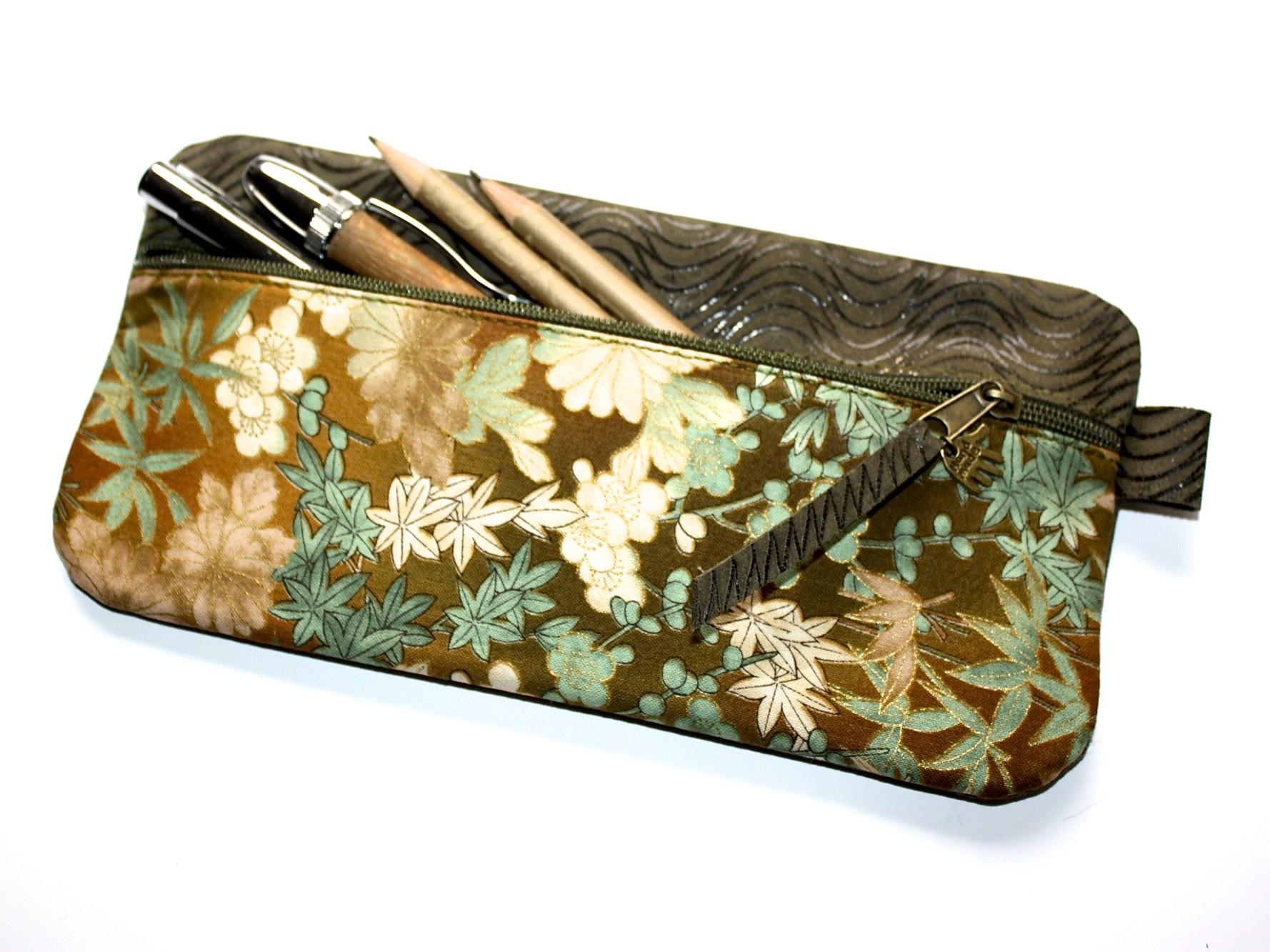 federm ppchen handgefertigt gepr gtes leder stoff japan. Black Bedroom Furniture Sets. Home Design Ideas