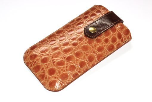 Smartphonetasche Leder geprägt