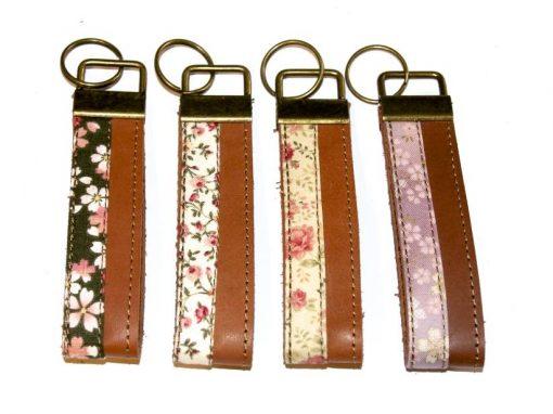 Schlüsselbänder, Schlüsselanhänger Leder und Stoff 3