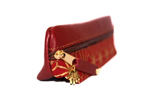 Federmäppchen dreidimensional rot asanoha 2