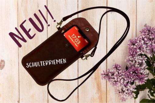 SCHULTERRIEMEN Smartphone LEDER